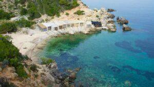 La Playa Cala Den Serra san Juan