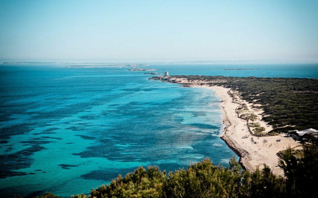 Panoramica di Ibiza